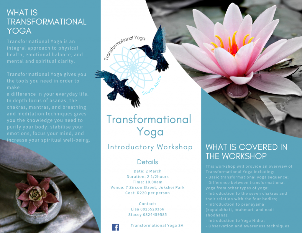 EVENTS - Transformational Yoga South Africa